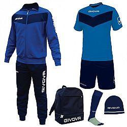 BOX SPORT azúrová-modrá - L