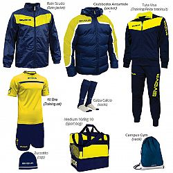 BOX VITTORIA PREMIUM modrá-žltá - M