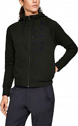 Bunda s kapucňou Under Armour Cotton Fleece WM FZ 1321186-357 Veľkosť XS