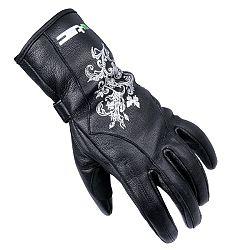 Dámske kožené moto rukavice W-TEC Natali