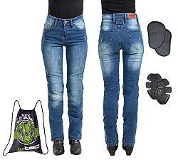 Dámske moto jeansy W-TEC Panimali