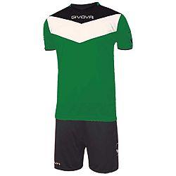 KIT CAMPO zelená-čierna - XL