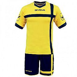 KIT CROCE žltá-modrá - XL