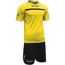 KIT ONE žltá-čierna - L