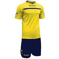 KIT ONE žltá-modrá - L