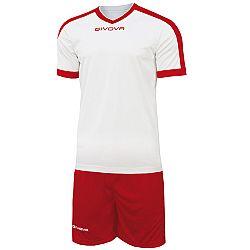 KIT REVOLUTION biela-červená - XL