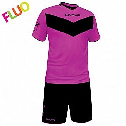 KIT VITTORIA FLUO fialová-čierna - XL