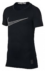 Kompresné tričko Nike B NP TOP SS COMP 858233-011 Veľkosť S