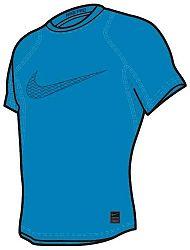 Kompresné tričko Nike B NP TOP SS COMP 858233-474 Veľkosť XL