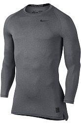 Kompresné tričko Nike COOL COMP LS 703088-091 Veľkosť XL
