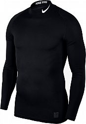 Kompresné tričko Nike M NP TOP LS COMP MOCK 838079-010 Veľkosť L