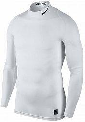 Kompresné tričko Nike M NP TOP LS COMP MOCK 838079-100 Veľkosť XXL