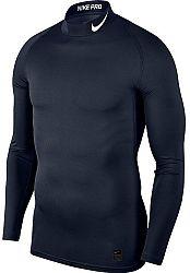 Kompresné tričko Nike M NP TOP LS COMP MOCK 838079-451 Veľkosť L