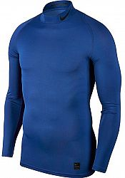 Kompresné tričko Nike M NP TOP LS COMP MOCK 838079-480 Veľkosť M