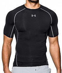 Kompresné tričko Under Armour HG SS 1257468-001 Veľkosť XL