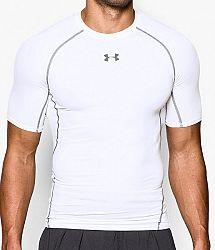 Kompresné tričko Under Armour HG SS 1257468-100 Veľkosť 3XL