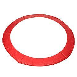 Kryt pružín na trampolínu 244 cm - červená