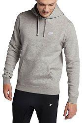Mikina s kapucňou Nike M NSW CLUB HOODIE PO BB 804346-063 Veľkosť M