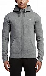 Mikina s kapucňou Nike M NSW HOODIE FZ FLC CLUB 804389-063 Veľkosť M