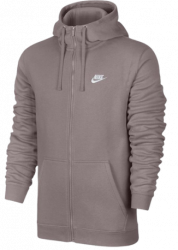 Mikina s kapucňou Nike M NSW HOODIE FZ FLC CLUB 804389-684 Veľkosť XL