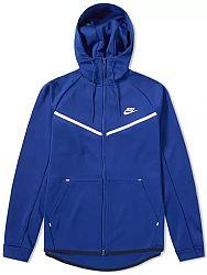 Mikina s kapucňou Nike M NSW WR HOODIE TCH ICON PK aq0823-455 Veľkosť S