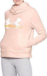 Mikina s kapucňou Under Armour Cotton Fleece Sportstyle Logo hoodie 1321185-805 Veľkosť S/M