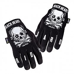 Moto rukavice W-TEC Web Skull