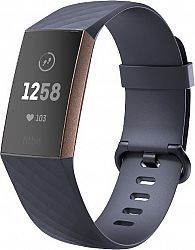 Náramok FitBit Fitbit Charge 3 fb409rggy-eu