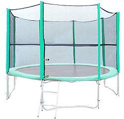Ochranná sieť na trampolínu inSPORTline 430 cm - na navlečenie 8 tyčí