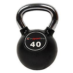 Pogumovaná činka inSPORTline Ketlebel Profi 40 kg