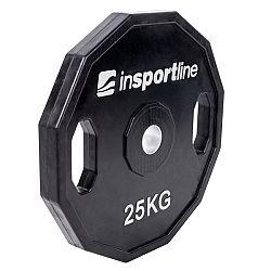 Pogumovaný kotúč inSPORTline Ruberton 25 kg