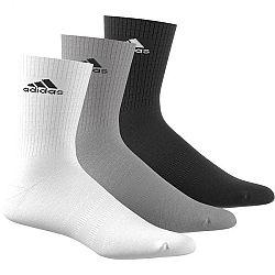 Ponožky adidas 3S Per Cr HC 3p aa2299 Veľkosť 43-46