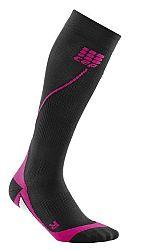 Ponožky CEP KNEE-HI RUNNING SOCKS wp45k3 Veľkosť IV