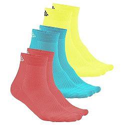 Ponožky Craft CRAFT Mid 3-Pack 1906060-702619 Veľkosť 34-36