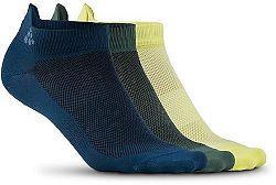 Ponožky Craft CRAFT Shaftless 3-pack 1906059-373316 Veľkosť 46-48