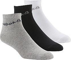 Ponožky Reebok ACT CORE ANKLE SOCK 3P du2923 Veľkosť 8121