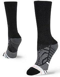 Ponožky Stance STANCE SHINY BLACK CREW BLACK w558c18shb-blk Veľkosť S