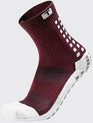Ponožky Trusox CRW300 Mid-Calf Thin Burgundy crw300sthinburgundy Veľkosť L