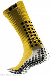 Ponožky Trusox CRW300 Mid-Calf Thin Yellow crw300sthinyellow Veľkosť M
