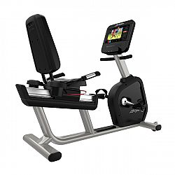 Recumbent Life Fitness Integrity D Base Discover ST