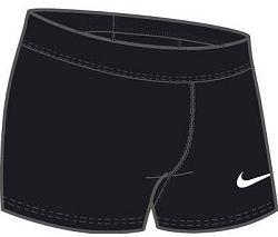 Šortky Nike W NK PWR STK RD BOY SHORT 835964-010 Veľkosť L