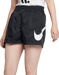 Šortky Nike W NSW SHORT WVN SWSH ar3014-010 Veľkosť L