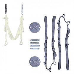 Stropný krížový držiak s lanami inSPORTline Hemmokstrap