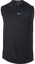 Tielko Nike M NK BRTHE MILER TANK SL COOL 904314-014 Veľkosť XL