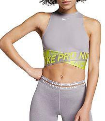 Tielko Nike W NP INTERTWIST 2 CROP TANK bq8316-061 Veľkosť L