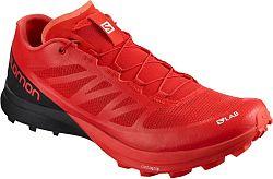 Trailové topánky Salomon S/LAB SENSE 7 SG Racing Red/Bk/Wh l40226000 Veľkosť 42 EU