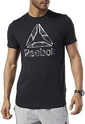 Tričko Reebok GS OST Black Ice Tee dy7831 Veľkosť XL