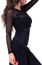 Tričko s dlhým rukávom Nebbia Flash-Mesh shirt 66401 Veľkosť L