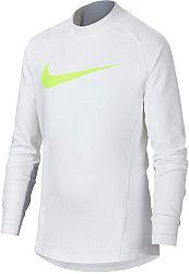 Tričko s dlhým rukávom Nike B NP WM TOP LS MOCK GFX ah3997-100 Veľkosť XL