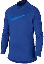Tričko s dlhým rukávom Nike B NP WM TOP LS MOCK GFX ah3997-480 Veľkosť M